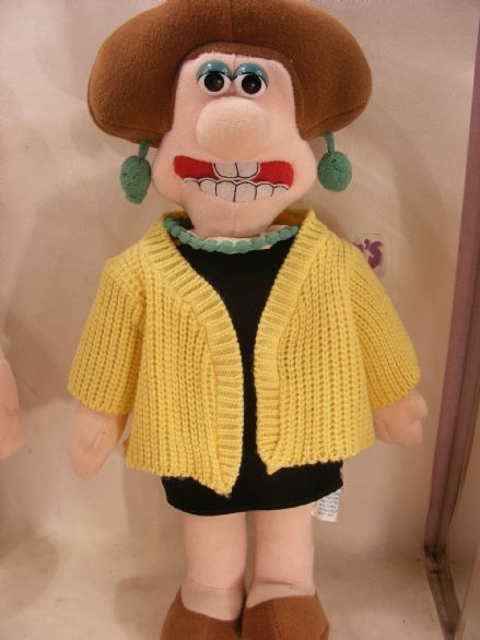 "VINTAGE 12"" WENDOLENE FROM WALLACE & GROMIT (80S)"